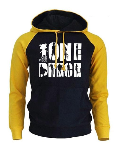 Sweat One Piece Manga jaune