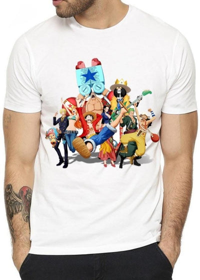 T-Shirt One Piece <br> L'équipage Mugiwara