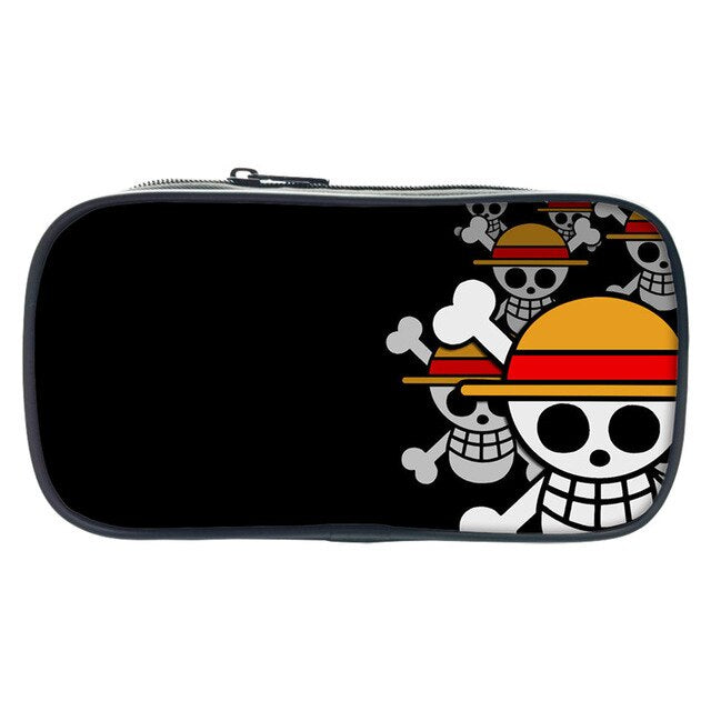 Trousse One Piece <br> Jolly Roger Mugiwara