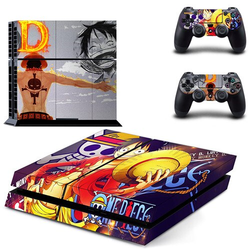 Sticker PS4 One Piece <br> Volonté du D