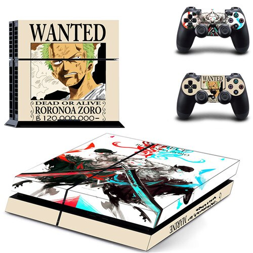 Sticker PS4 One Piece <br> Prime Zoro