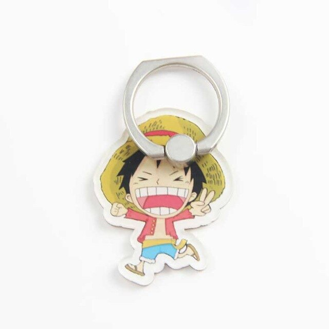 Anneau de Support One Piece <br> Luffy Chibi