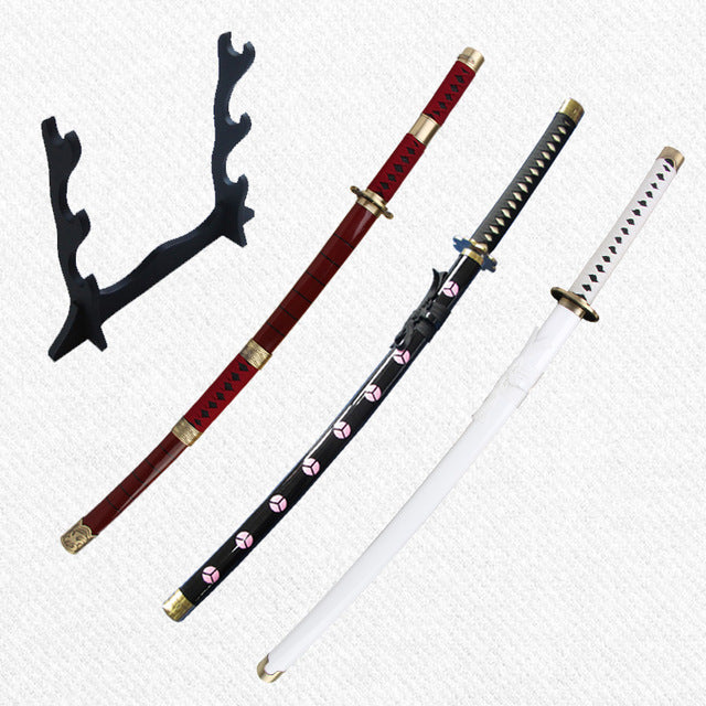 Sabre One Piece <br> Pack 3 Katanas Tranchants Zoro