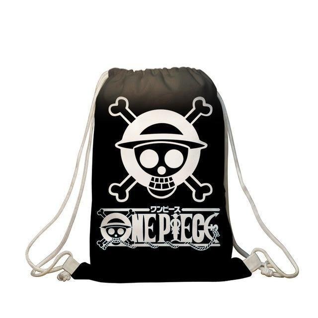 Sac de Gym One Piece <br> Jolly Roger Mugiwara