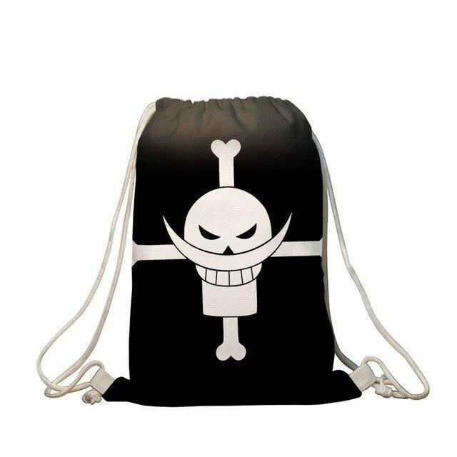 Sac de Gym One Piece <br> Jolly Roger Barbe Blanche
