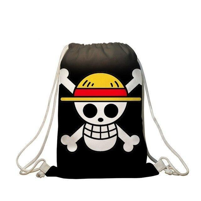 Sac de Gym One Piece <br> Jolly Roger