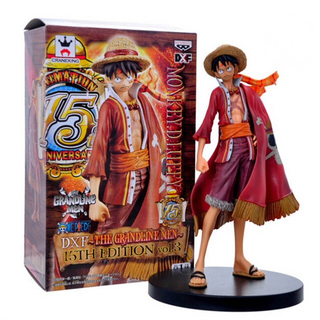 Figurine One Piece <br> Capitaine Luffy (17cm)