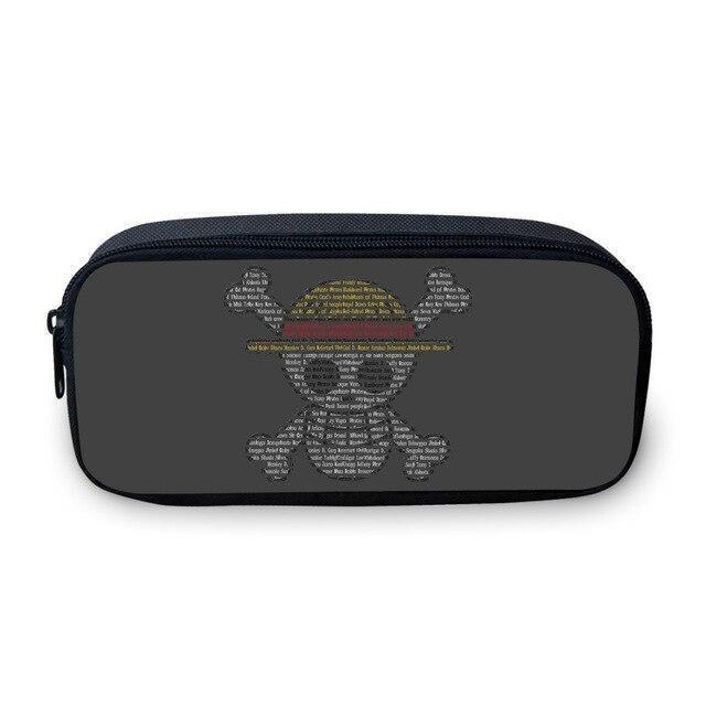 Trousse One Piece <br> Reflet Jolly Roger