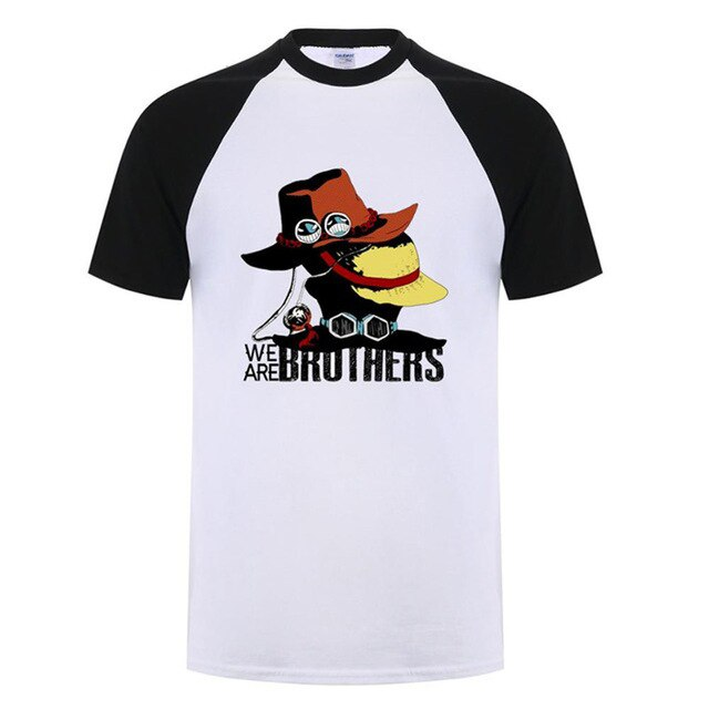 T-Shirt One Piece <br> Les Frères Luffy & Ace