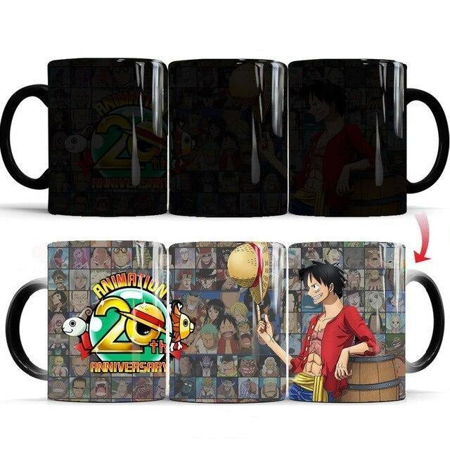 Mug Thermosensible Monkey D Luffy