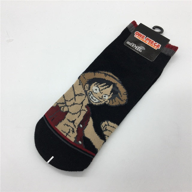 Chaussettes One Piece <br> Luffy le Pirate