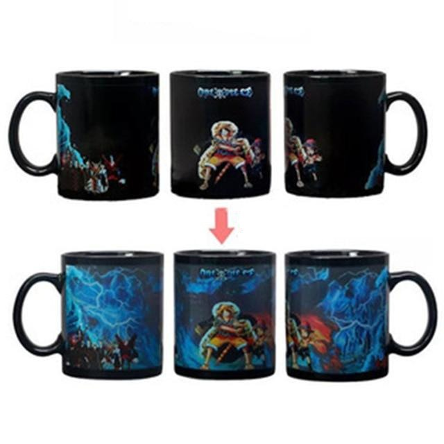 Mug Thermosensible One Piece <br> Monkey D. Luffy