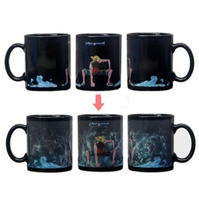 Mug Thermosensible One Piece <br> Luffy Gear 2
