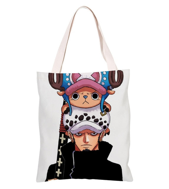 Sac Cabas One Piece <br> Law et Chopper