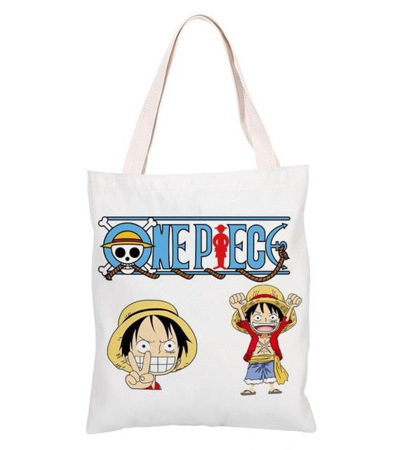 Sac Cabas One Piece <br> Luffy Chibi