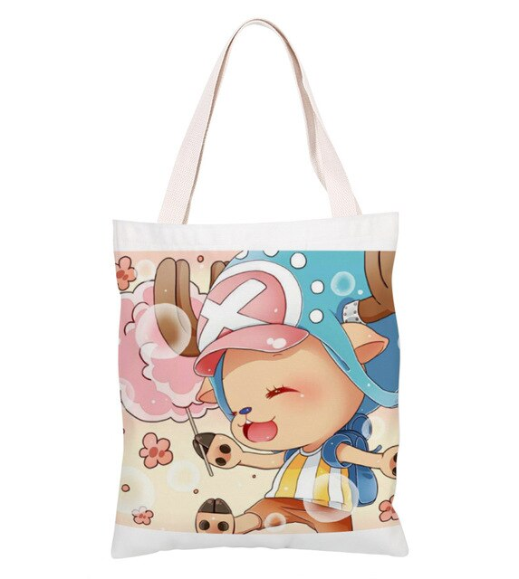 Sac Cabas One Piece <br> Chopper Fruit de l'Humain