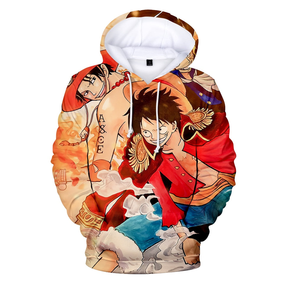 Sweat One Piece <br> D. Luffy - D. Ace