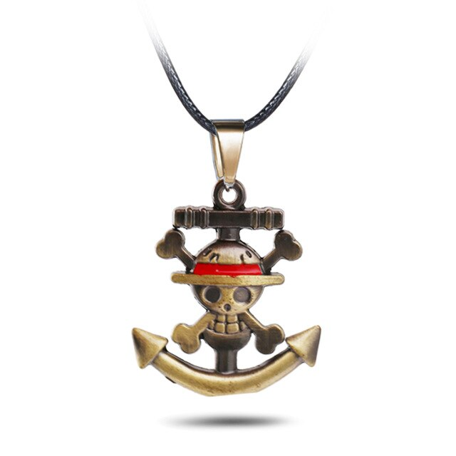 Collier One Piece <br> Drapeau Pirate