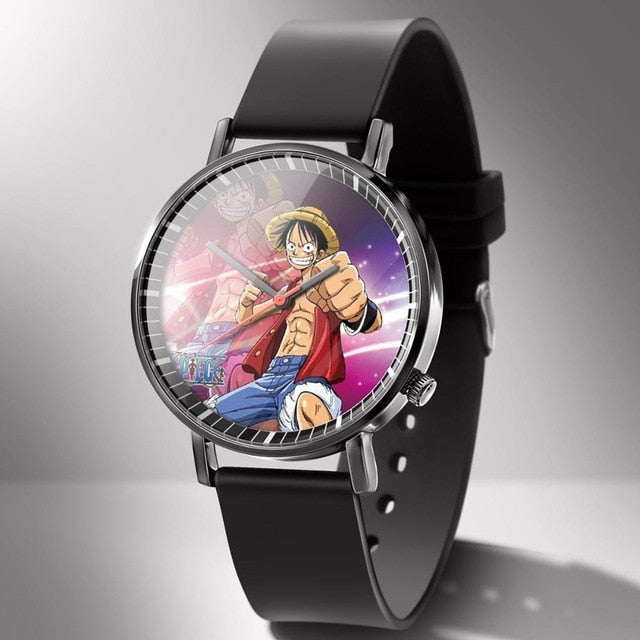 Montre One Piece <br> Luffy au Chapeau de Paille