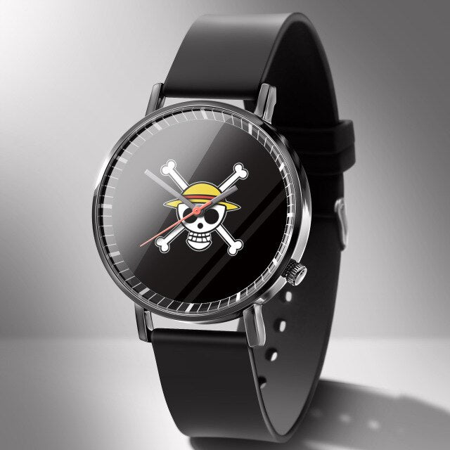 Montre One Piece <br> Jolly Roger Luffy