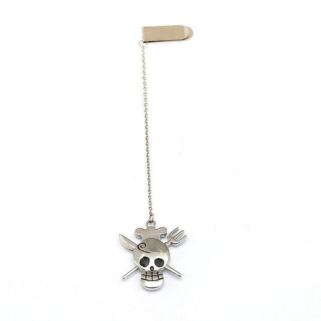 Marque-Page One Piece <br> Jolly Roger Sanji