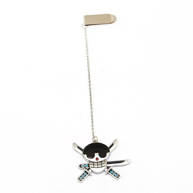 Marque-Page One Piece <br> Jolly Roger Zoro