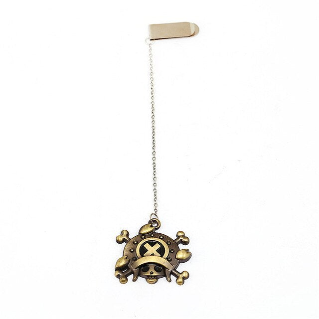Marque-Page One Piece <br> Jolly Roger Chopper