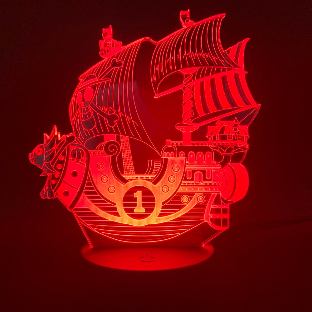 Lampe Acrylique One Piece <br> Thousand Sunny