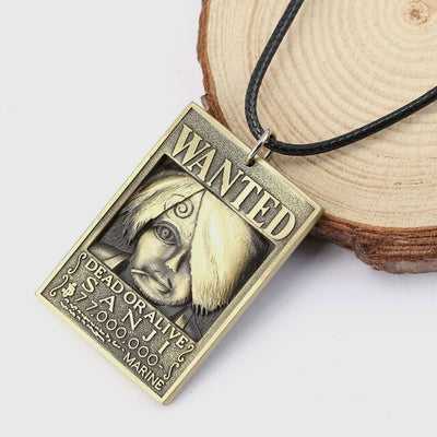 Collier One Piece <br> Wanted