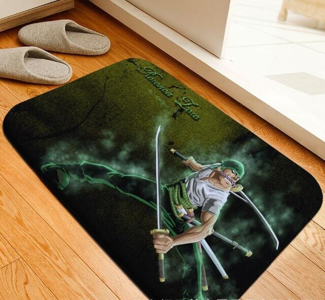 Tapis One Piece <br> Zoro Chasseur de Pirates