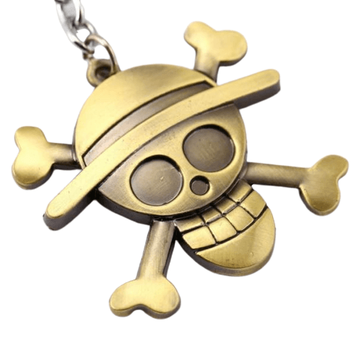 Porte-Clé One Piece <br> Jolly Roger