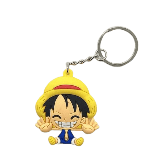 Porte-Clé One Piece <br> Luffy