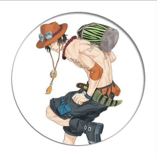 Pin's One Piece <br> Portgas D. Ace