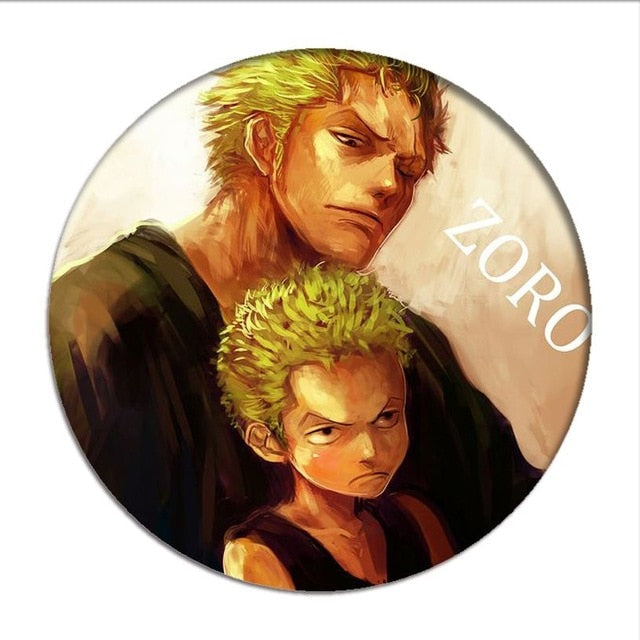 Pin's One Piece <br> Zoro