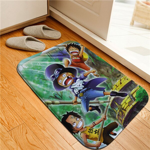 Tapis One Piece <br> Sabo Luffy et Ace