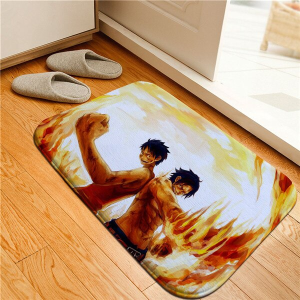 Tapis One Piece <br> Luffy et Ace