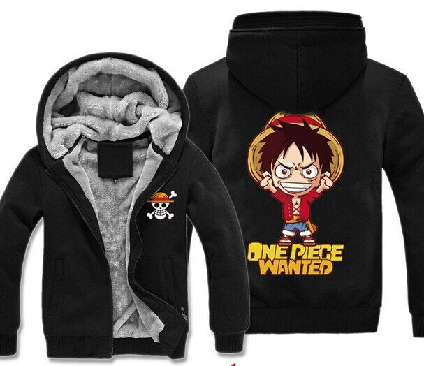 Veste Luffy Prime Wanted