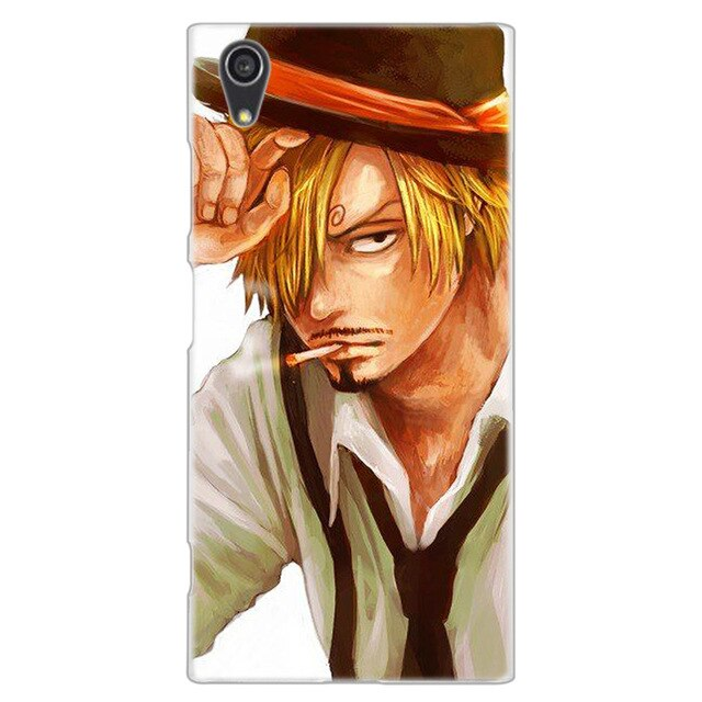 Coque One Piece Sony <br> Sanji Fumeur