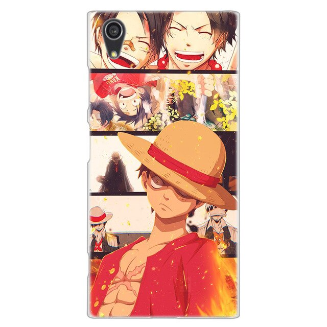Coque One Piece Sony <br> Vie de Luffy