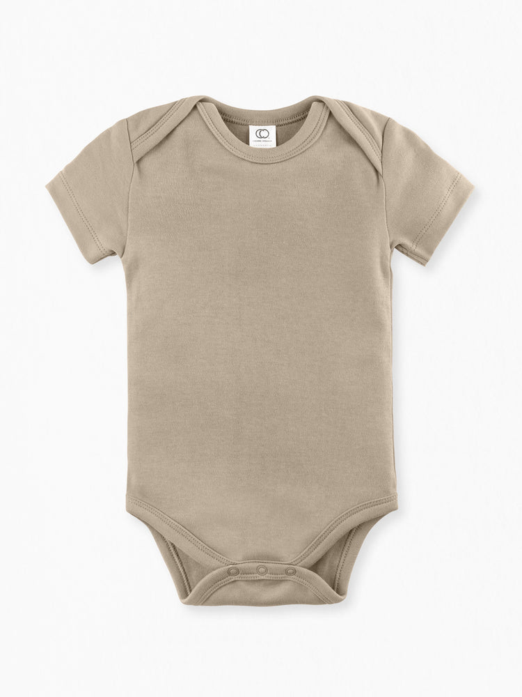 Load image into Gallery viewer, Classic Short Sleeve Bodysuit -  Clay