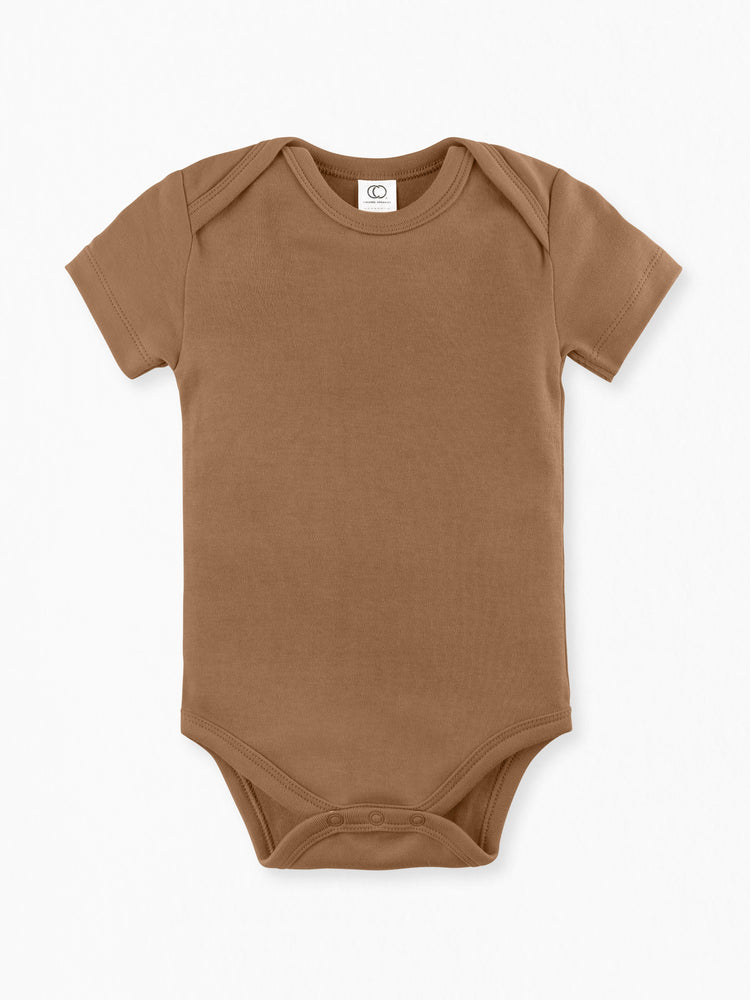 Classic Short Sleeve Bodysuit -  Ginger
