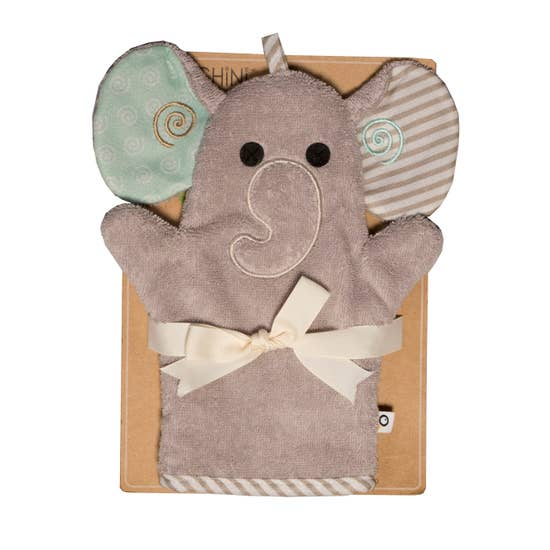 Elle the Elephant Bath Mitt