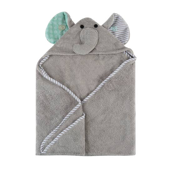 Elle the Elephant Baby Towel