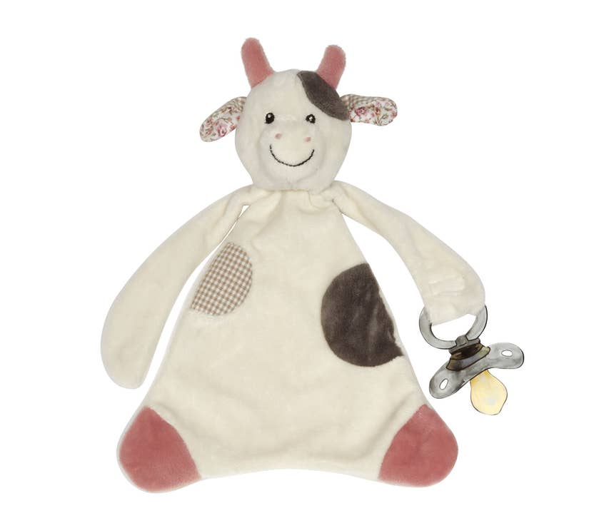 Cassie the Cow Pacifier Blankie