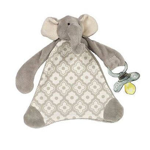 Emerson The Elephant Pacifier Blankie