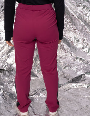 Dreamy large jogging / couleur framboise