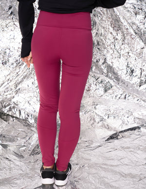 Rizanaa elevate high waisted legging / Framboise