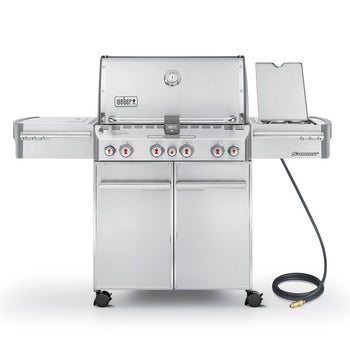 Weber Summit® S-670 4-Burner Convertible Gas Grill