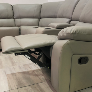Symmetrical Reclining Motion Sectional Sofa