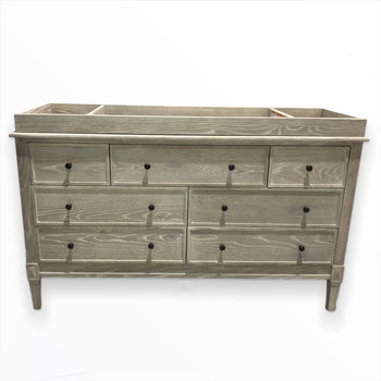 7-drawer dresser with removable nursery bed